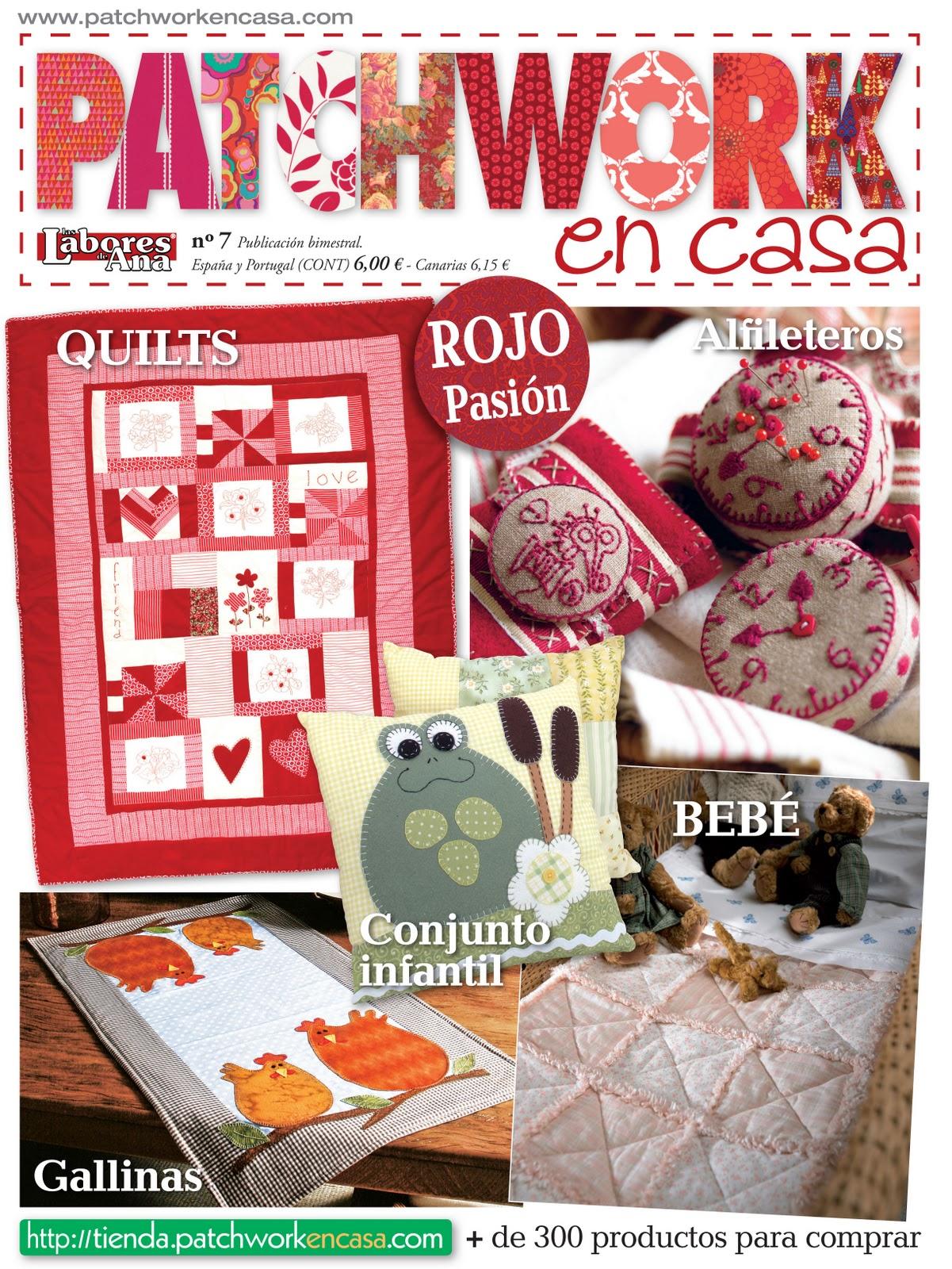 Patchwork en casa patchwork with love felices fiestas y - Casas de patchwork ...