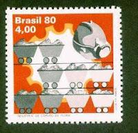 Selo Indústria de Carvão de Pedra - 1980