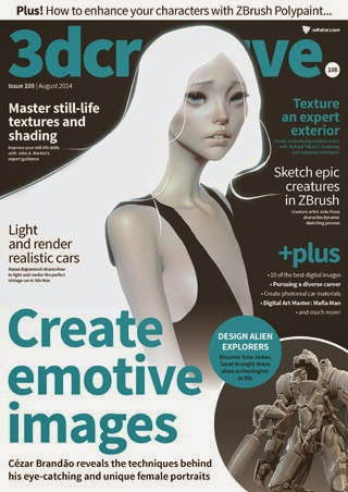 3D Creative Magazine Issue 108 August 2014