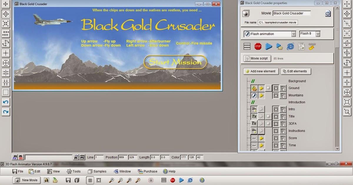 Download Software Membuat 3D Flash Animator