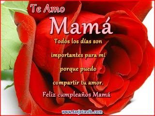 Frases Para Cumpleaños: Te Amo Mamá Todos Los Días