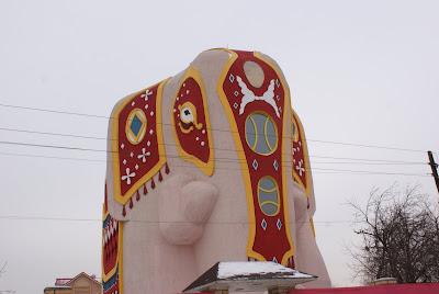 дом в виде слона фото 2
