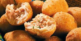 #receita de #coxinha com #massa de #queijo