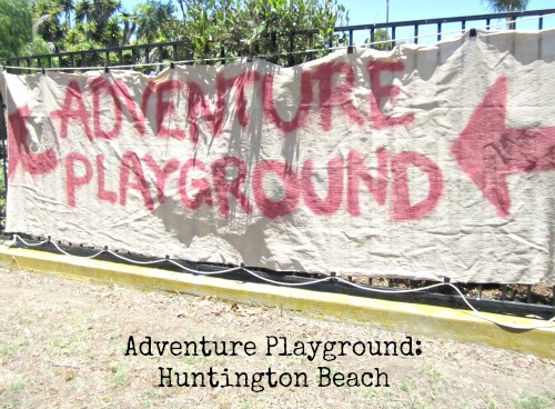 Adventure Playground in Huntington Beach | LivingMiVidaLoca.com #HuntingtonBeach