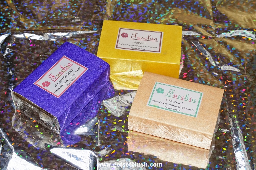 Review:Fuschia Natural Handmade Herbal Soaps by Vkare