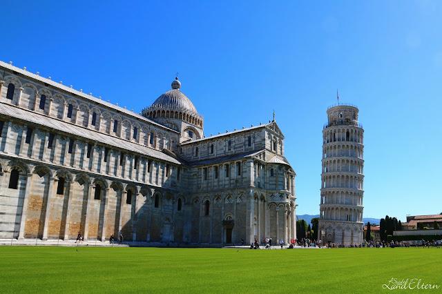 Stadtlandeltern - Italien - Pisa - Schiefer Turm