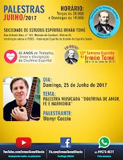 PALESTRAS NO IRMÃO TOMÉ