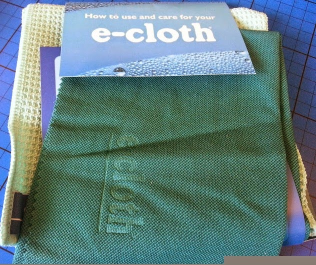 E-cloth anti allergy chemical free cleaning products window cloths review