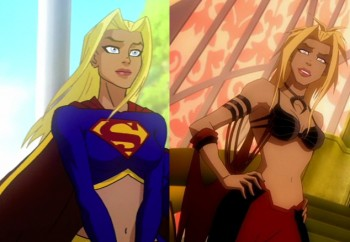 She S Fantastic Superman Batman Corrupted Supergirl