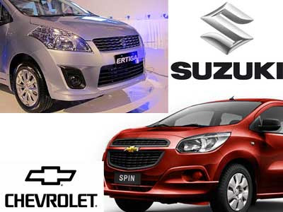 Chevrolet Spin Vs Suzuki Ertiga Vs Toyota Avanza Veloz Which Is