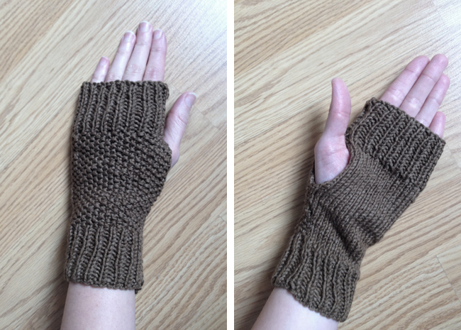 Lula Louise: Free Knitting Pattern   Fingerless Knitted Mitts