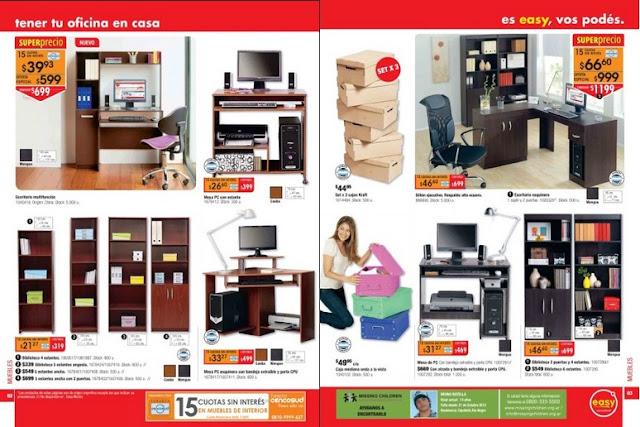 Todo en vivo y en directo catalogo easy marzo 2013 for Easy argentina catalogo