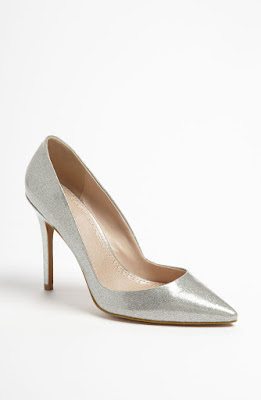 Charles David pact pumps in silver