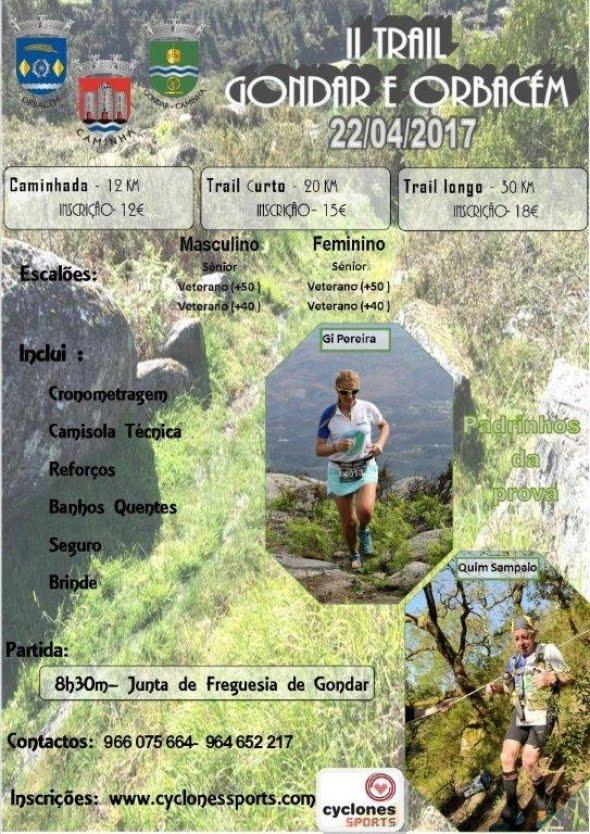 2º TRAIL DE GONDAR/ORBACÉM