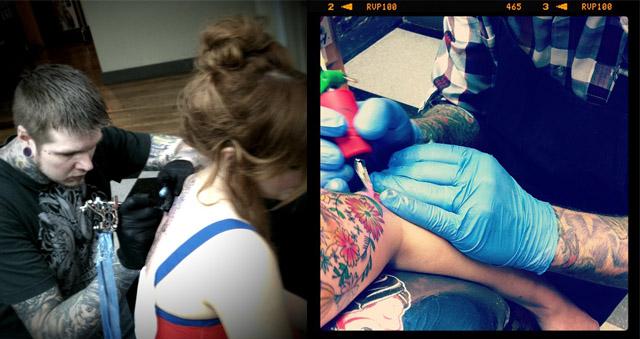 Daughter tattoos nake — img 8