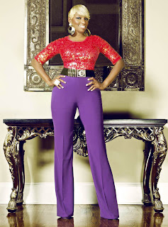 Nene Leakes in Denim Magazine