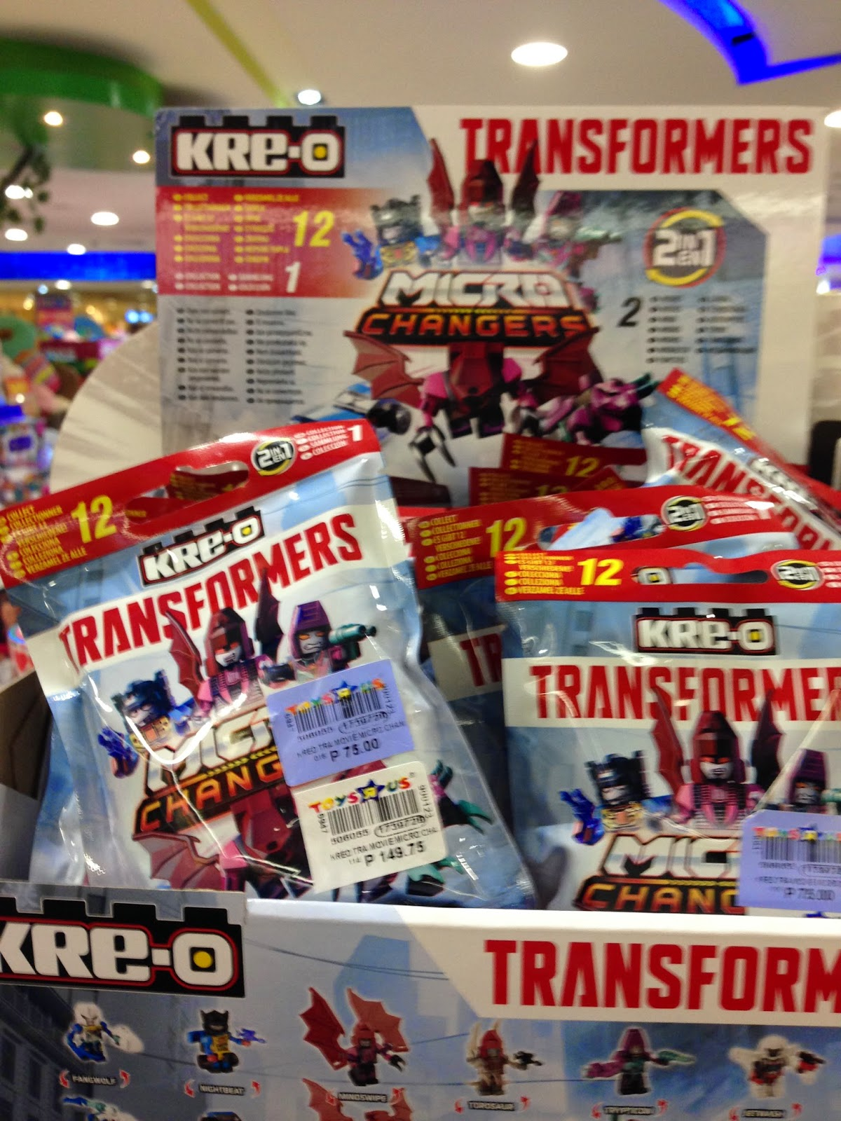 Toy Sale in Manila, Philippines 2015 : Kre-o Transformers Micro Changers Surprise Toys on SALE