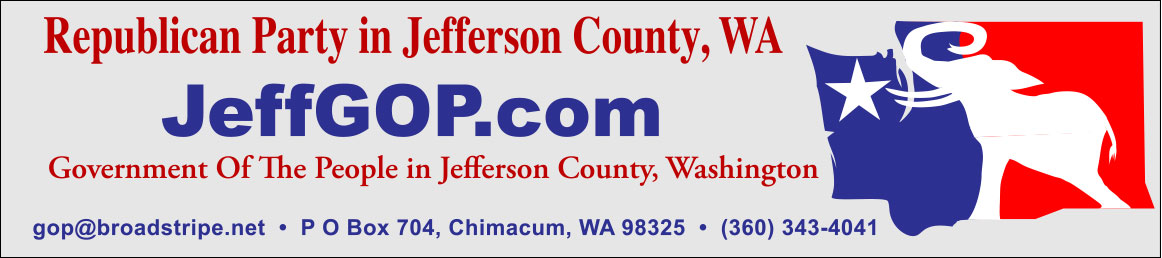 JeffGOP.com Republican Party of Jefferson County WA