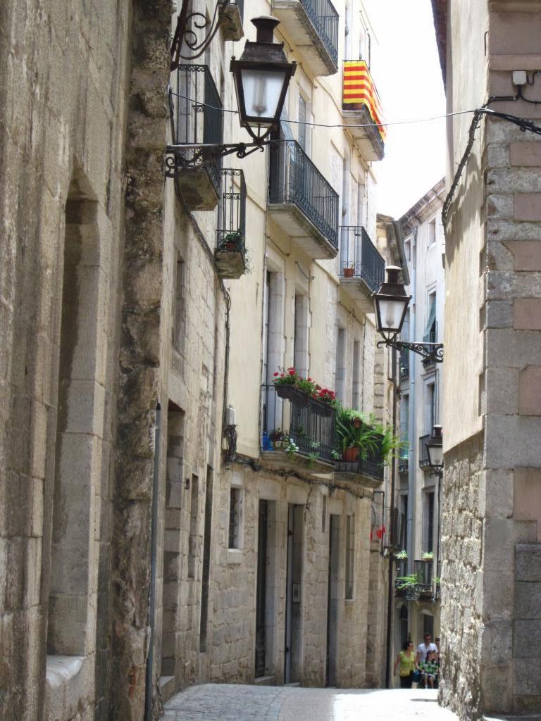 carrer de la Força. Encants de Girona.