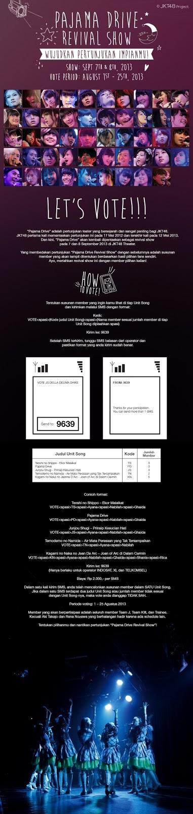 Cara Vote JKT48 Pajama Drive Revival Show