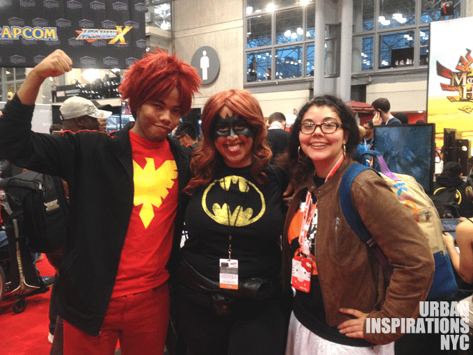 NYCC, Batgirl, Male Phoenix, Cosplay, Friend, New York Comic Con