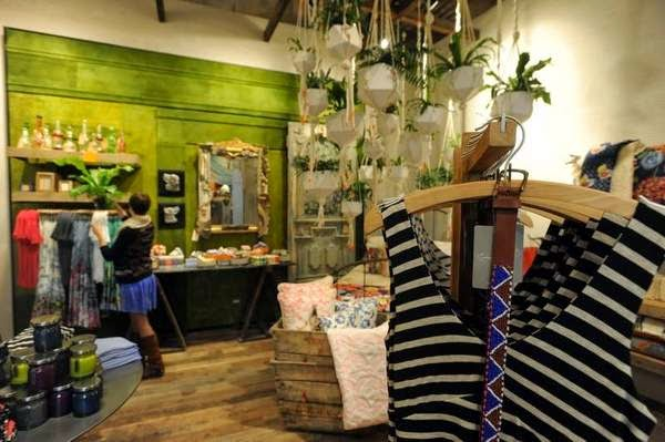 Hannah diomataris back left store manager at for Anthropologie store decoration ideas