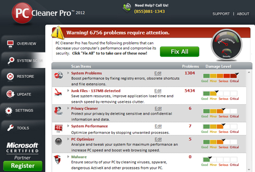 PC Cleaner Pro 2013 11.0.13.4.4 Full Version With Serial Key