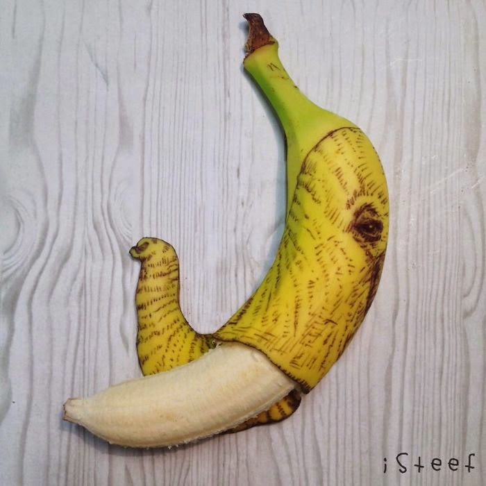banana art projects