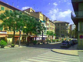 Plaza de la Diputación en Barbastro. Plaza de la Diputación en Barbastro