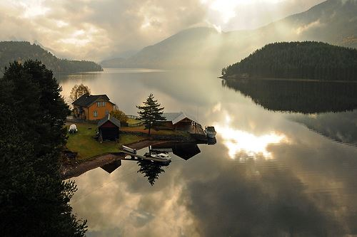 Spjotsodd in Telemark, Norway