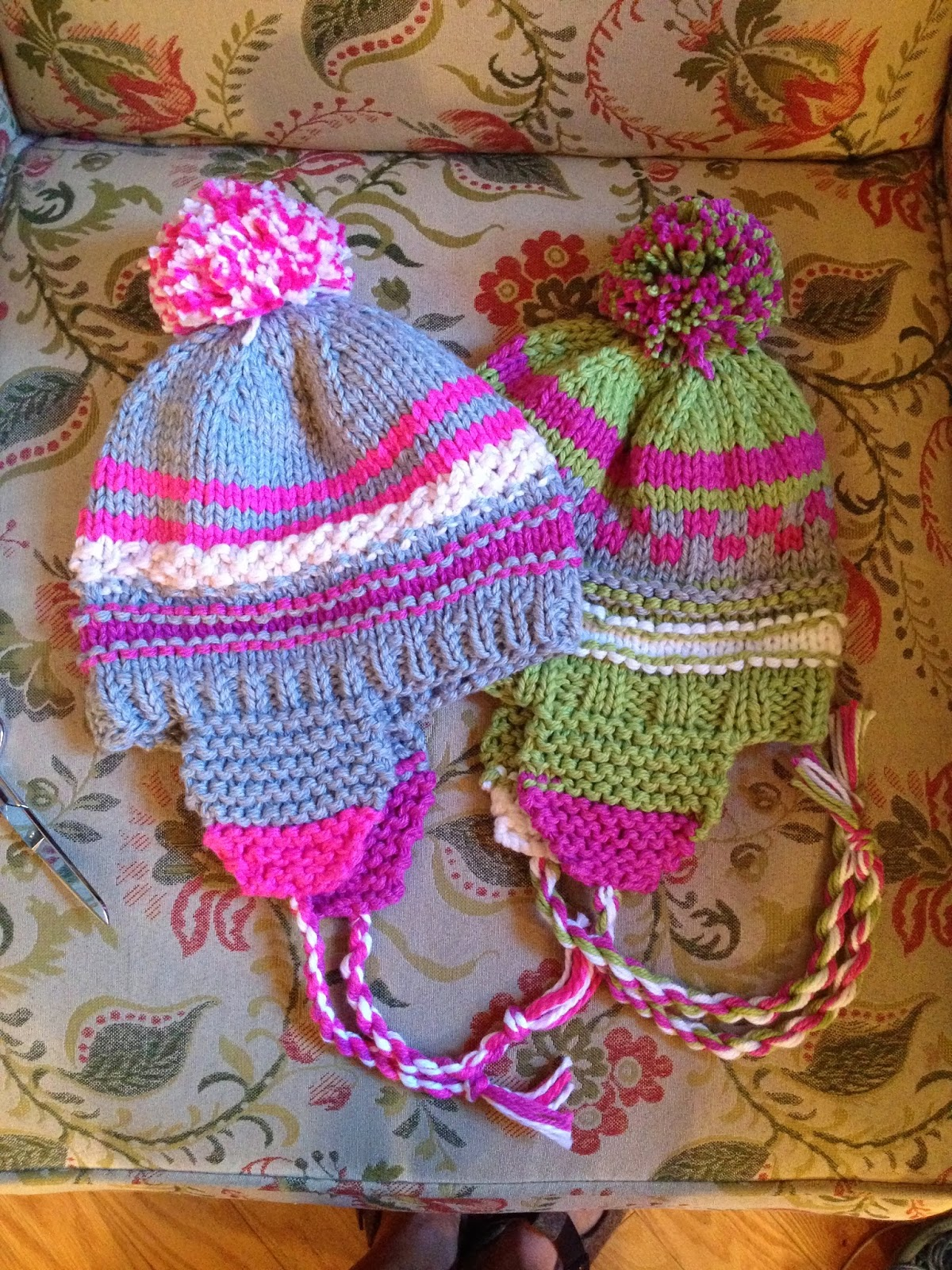 Susan B. Anderson: Scrap Happy Hat Recipe
