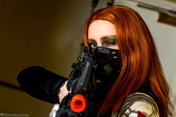 Black Widow Winter Soldier Gender Bender Cosplay