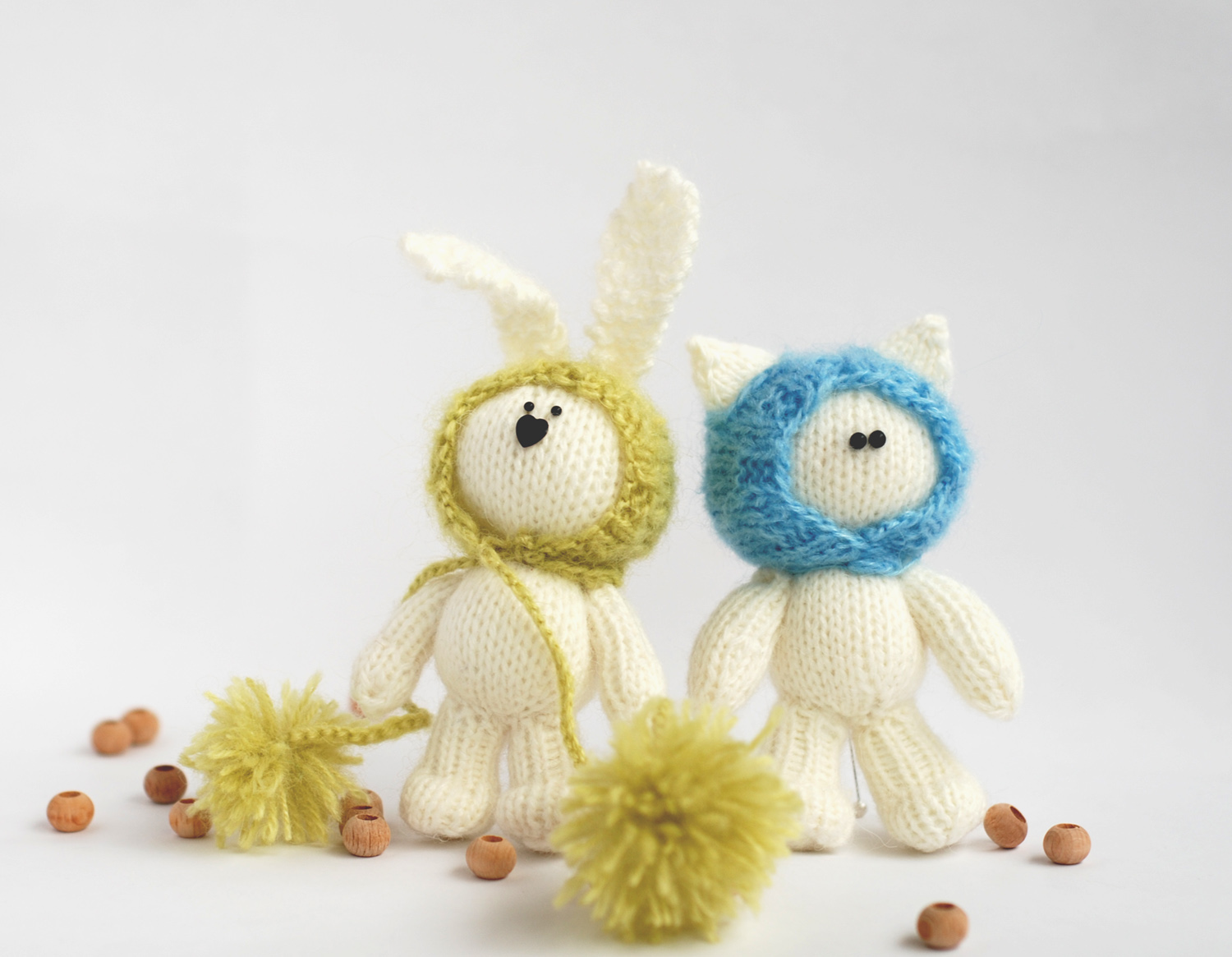 Knitting Patterns For Beginners Toys : Denizas knitted toys patterns