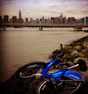 Check out the ever-growing, sometimes bizarre collection of Citi Bike pics on Instagram