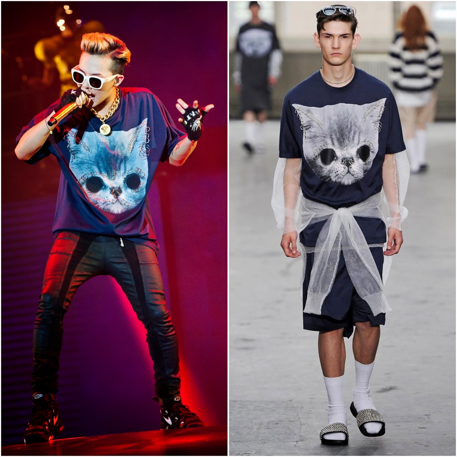 00O00 Menswear Blog: G-Dragon in Shaun Samson - 2013 World Tour, Malaysia