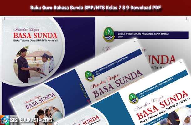Buku Guru Bahasa Sunda SMP/MTS Kelas 7 8 9 Download PDF
