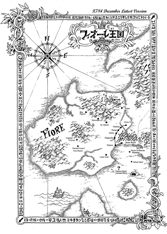 [Informações] ● Fiore • Fiore_Map