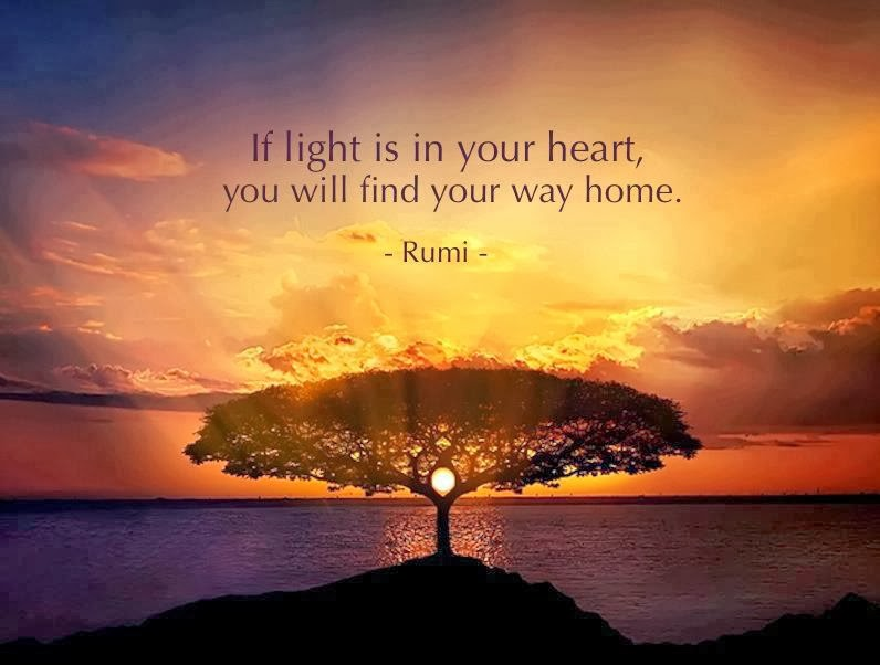 Rumi Quotes Magnificent Mevlana Rumi Quotes If Light Is In Your Heart Rumi Quotes