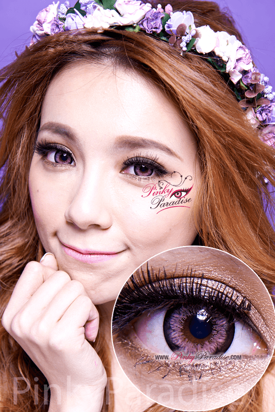 G&G Blossom Pink Circle Lenses (Colored Contacts)