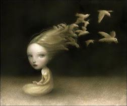 Los cabellos vuelan y bailan con el aire
