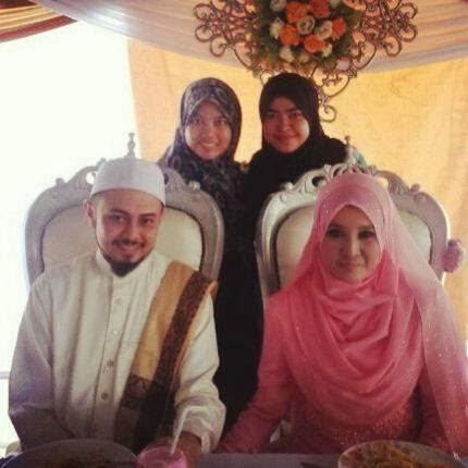 Salima AF dan Suami ustaz