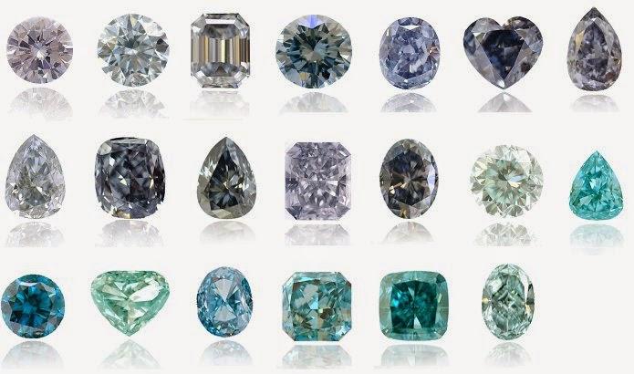 warna batu berlian