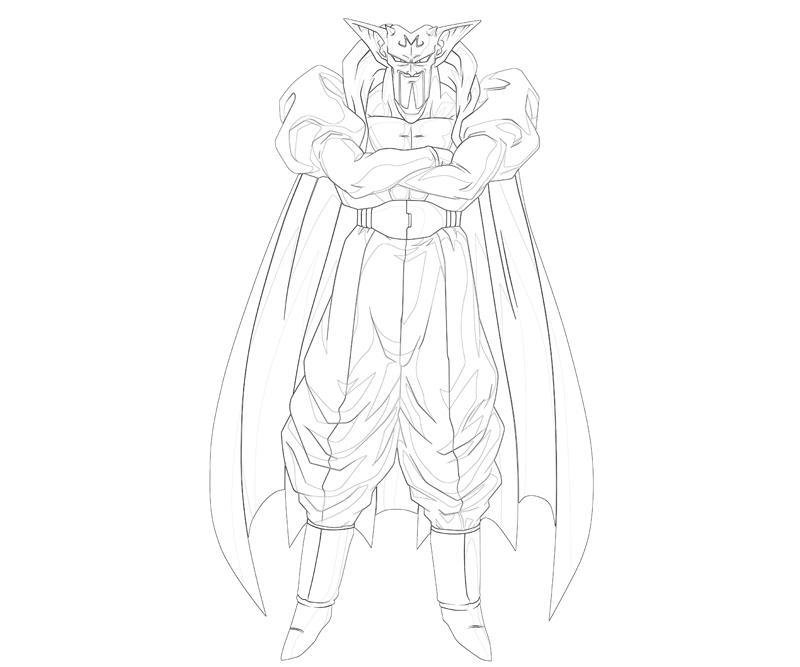 Dabura Character How Coloring