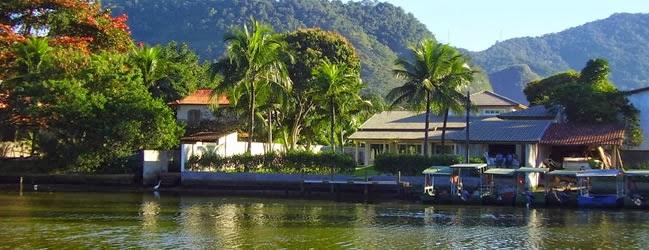 Ilha da Gigóia, na entrada da Barra.