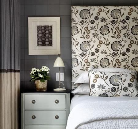 Designing Home: upholstered headboard pillows DIY