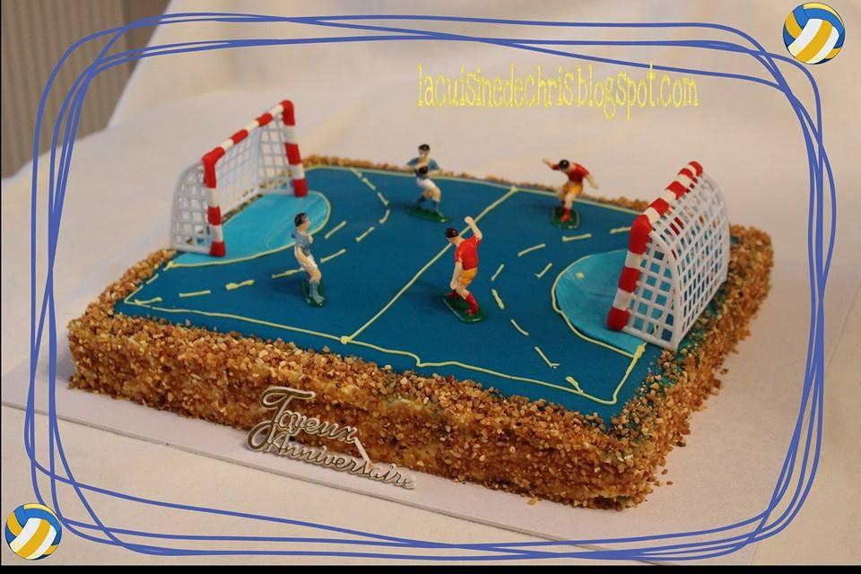 deco gateau handball