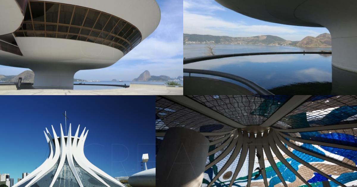 Univers creatifs l 39 architecte br silien oscar niemeyer for Architecte bresilien