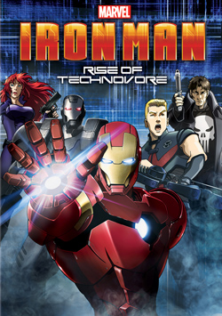 Ngi St: S Ni Gin Ca Technovore - Iron Man: Rise of Technovore