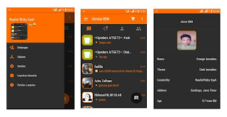 BBM Mod Orange Dark Inovation V4