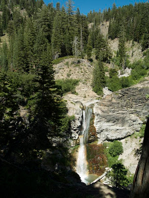 Mill Creek Falls en Lassen Volcanic Park